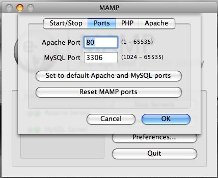 mamp-port