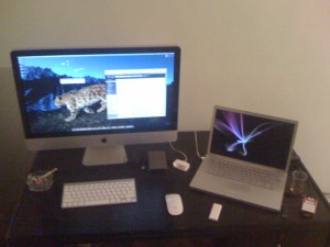 iMac 27 inch 2.66 Ghz Quad Core
